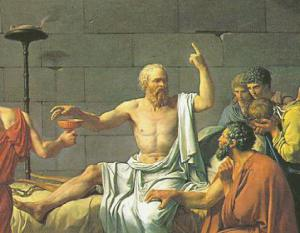 """Socrates; """"I drank what?"""""""