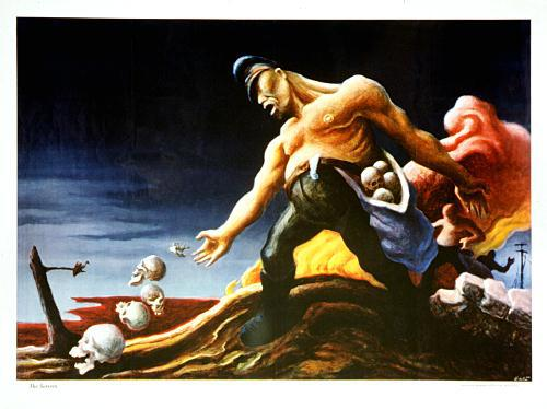 """""""The Sowers"""" by Thomas Hart Benton"""