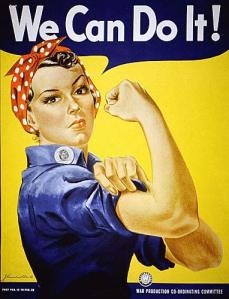 """""""We Can Do It!"""" a.k.a. """"Rosie the Riveter"""" is one of the best known iconic images in American culture."""
