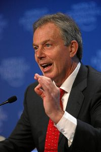 Former PM Tony Blair Image: (c) World Economic Forum