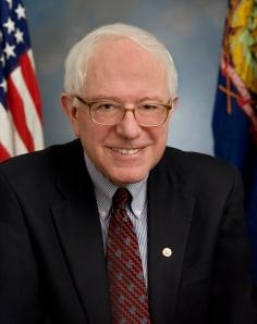 Senator Bernie Sanders Independent of Vremont