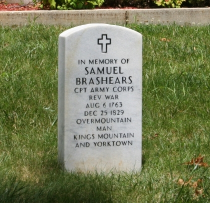 Samuel Brashears stone