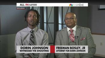 Dorian Johnson and Freeman Bosley