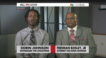Dorian Johnson and Freeman Bosley
