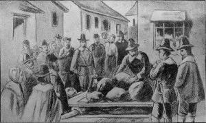 The Execution of Giles Corey