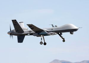 Military version of the MQ-9 Reaper drone similar to the ones used by CBT.