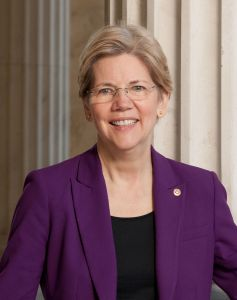 Senator Elizabeth Warren (D-Massachusetts)