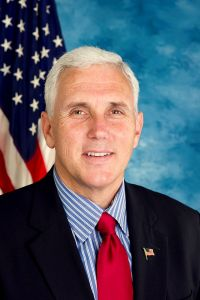 Mike Pence (R) Governor of Indiana