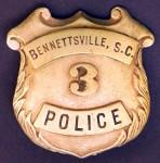 BennettsvillePoliceBadge
