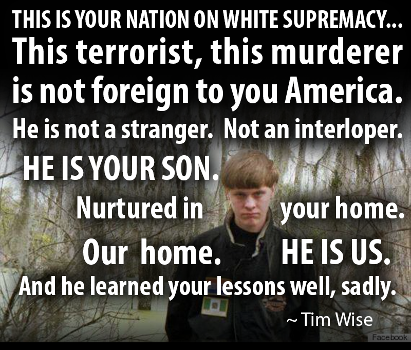 Picture Of The Day For June 18 2015 Dylann Roof
