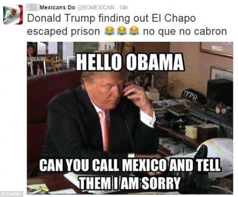 DonaldTrumpElChapo