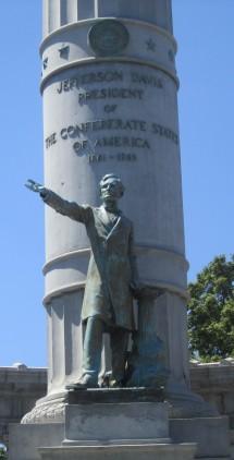 Jefferson Davis Monument in Richmond, VA