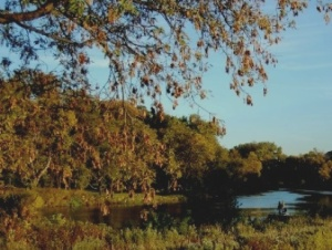 Red River near Fargo