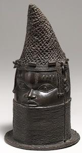 Head of Benin Iyoba (Queen Mother) 18th Century
