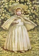 little girl in white - Greenaway