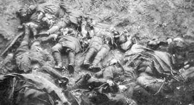 battle of the somme dead - ivar fjeld