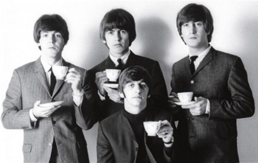 The Beatles 1960s with tea