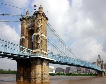 CovingtonKY_JARoeblingBridge Cincinnati
