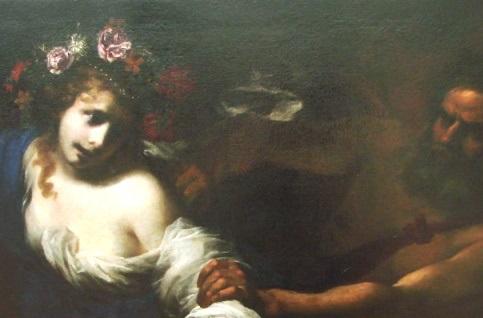 The Rape of Persephone by Simone Pignoni c 1650