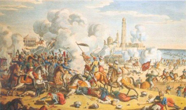 Alexandria capture by Napoleon