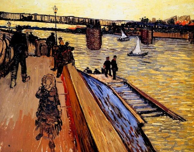 Gogh-van-Vincent-Le-pont-de-Trinquetaille-Sun