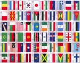 international Flags hortizontal