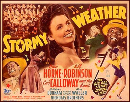 Lena Horne - Stormy Weather poster