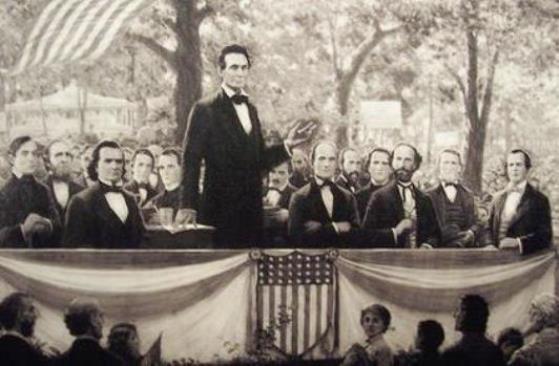 Lincoln douglas debates 1858