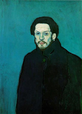 picasso-self portrait 1901