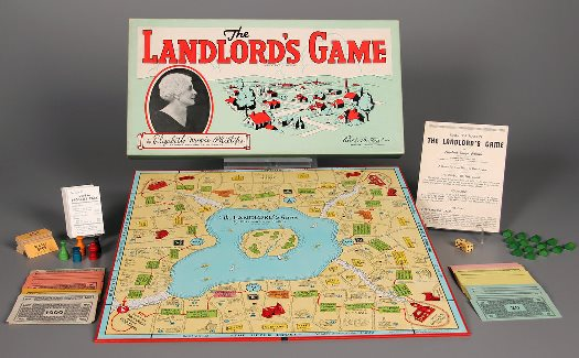The Landlords Game-MONOPOLY