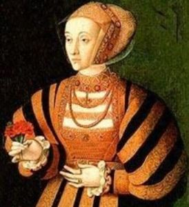 Anne of Cleves by Bartholomäus Bruyn the elder (1540s)