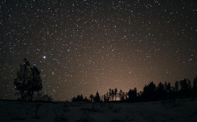 Ashland Montana night sky Zane Spang photo