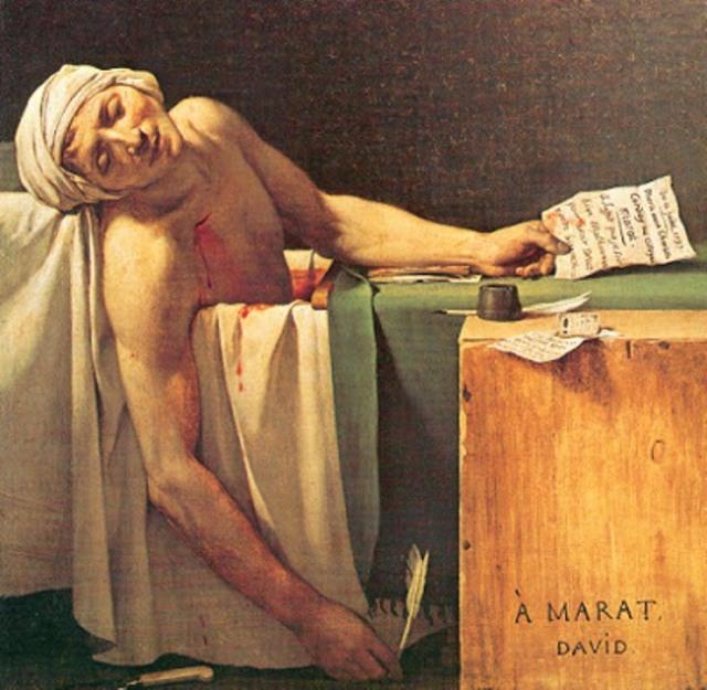 Death_Of_Marat by David 1793