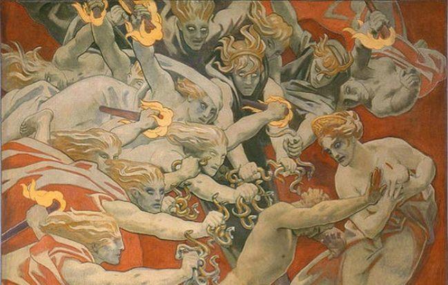 furies Ancient Greek