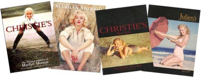 Marilyn-Monroe-Auction-Catalogs