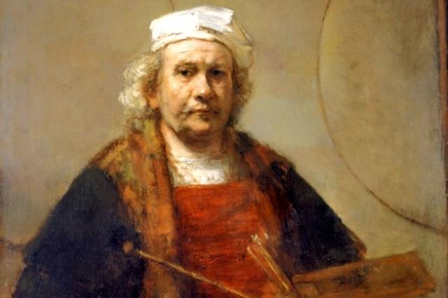 Rembrandt self-portrait 1660s