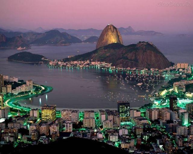 Rio-de-Janeiro-Brasil at twilight_1280x1024