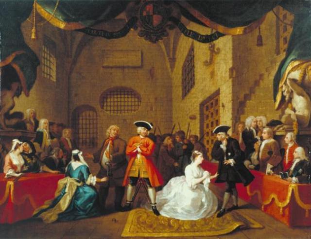 The Beggar's Opera 1731 - Wm Hogarth