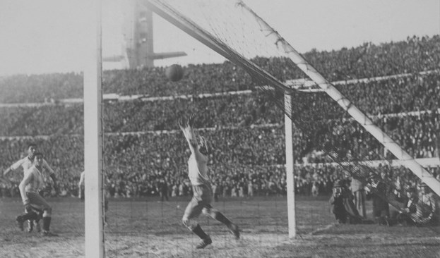Uruguay wins first World Cup 1930