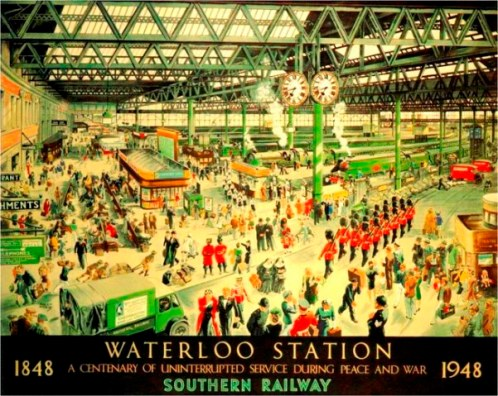 Waterloo Station Centenary 1848-1948