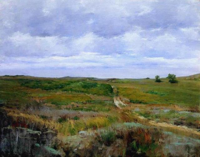 Wm Merritt Chase over-the-hills-and-far-away