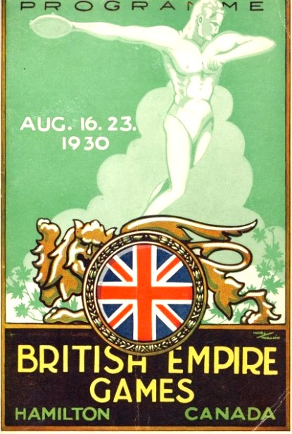 British_Empire_Games_programme_Philip_Barker 1930