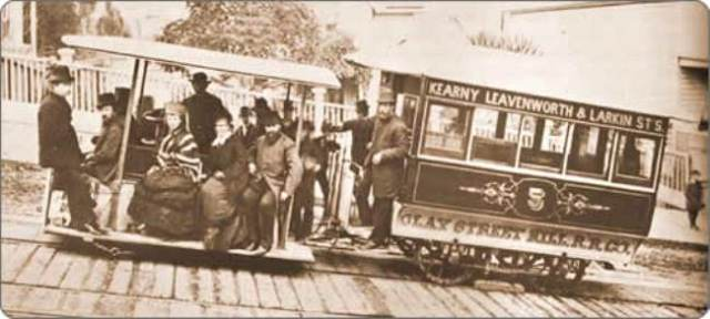 Clay Street Cable Car_1887