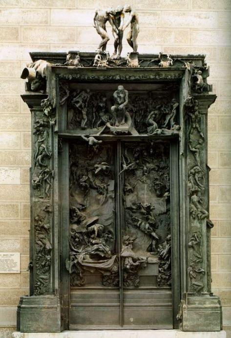 La Porte de I'Enfer Auguste Ridin