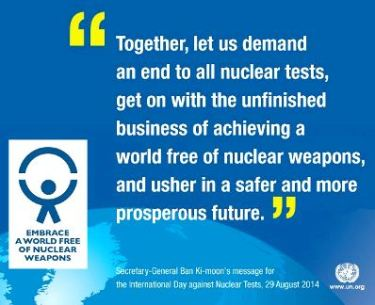 No More Nuclear Tests