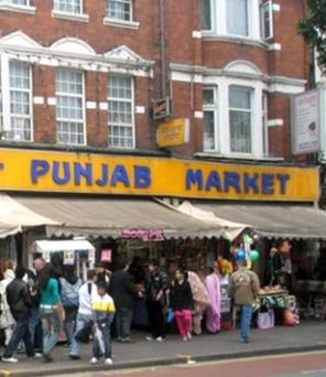 punjab-market in London