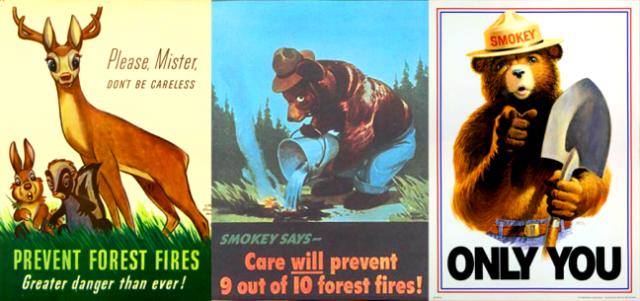 smokey the bear posters