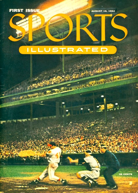 Sports Illustrated first issue August 1954