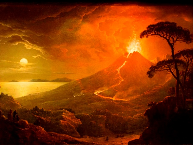 the-eruption-of-vesuvius-by-abraham-pether-1825
