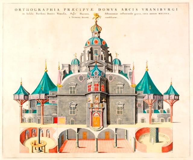 Tycho Brahe's Uraniborg observatory